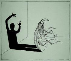 Franco Matticchio, Metamorphosis. https://flic.kr/p/9niUz2 | Franco Matticchio - Metamorphosis | theanimalarium.blogspot.com/