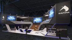 sampa automechanica exhibition stand design
