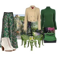 Really Green With Envy!, created by nefertiti1373 on Polyvore