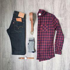 "108 Me gusta, 3 comentarios - Mitch Yasui (@mitchyasui) en Instagram: ""You always remember your first...photo series on Instagram. Shirt, belt: @frankandoak Denim: @levis…"""
