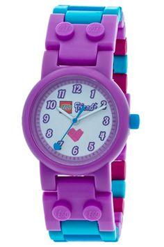 lego friends olivia 9001000 montre enfant quartz analogique bracelet plastique multicolore lego