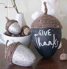 Creative Home Décor: Thanksgiving 2014