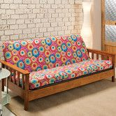 Found it at Wayfair - Patterned Stretch Jersey Futon Slipcover