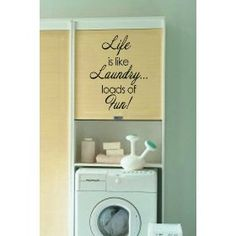 For the laundry room redo!