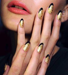 Gold X Black