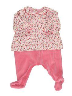 Pyjama 1 pièce Fille PETIT BATEAU 3 mois pas cher, 11.55 €