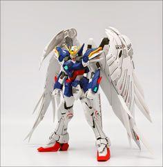 Custom Build: MG 1/100 XXXG-00W0 Wing Gundam Zero Custom EW ver. - Gundam Kits Collection News and Reviews