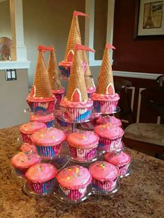 Castillo pastel princess