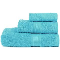 Restmor Knightsbridge 100% Egyptian Cotton 3 Piece Towel Bale Set... ($17) ❤ liked on Polyvore featuring home, bed & bath, bath, bath towels, 3 piece towel set, egyptian cotton bath towels, egyptian cotton towel set, egyptian cotton hand towels and aqua bath towels
