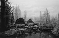 Hiroshi Suhimoto /// Dioramas: Permiand Land, 1992