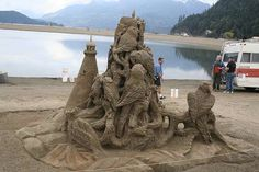 Sand Castle Competition 2012 | Anything And Nothing: Sand Castles competition .... Part 4