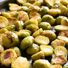 Maple Syrup Roasted Brussels Sprouts – Adding the sweetness of maple syrup to roasted sprouts makes this the best Brussels sprouts recipe! The sweet and salty flavor combination in this dish is fantastic.