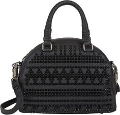 Christian Louboutin Spiked Panettone Satchel   Messenger, Luggage and Bag