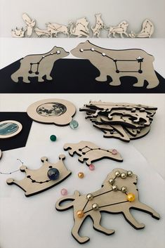Preschool Games, Toddler Activities, Constellation Craft, Laser Cutter Ideas, Led Diy, Montessori Materials, Cnc, Toys Shop, Science For Kids