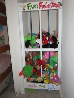 DIY Stuffed Animal Zoo #rocking