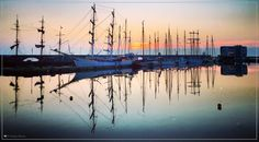 Weerspiegeling #sunset Bataviahaven Lelystad