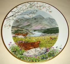 Peter Barrett. Seasons - Painting on porcelain.