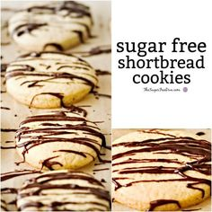 This is the Recipe for how to make Sugar Free Shortbread Cookies that can also be made gluten free or low carb as well as sugar free.
