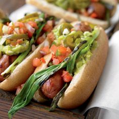Recipe: Mexican Hot Dogs | From Organic Gardening