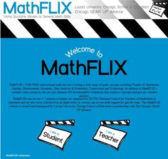 MathFLIX = 1000 FREE instructional math movies covering a wide range of math concepts including Number Homeschool High School, Math School, Homeschool Math, School Hacks, Homeschooling, College Math, Math Teacher, Math Classroom, Teaching Math