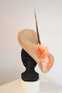 Boüret accessories - Tocado flores naranja - Boüret Atelier