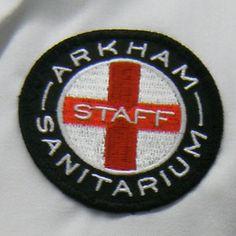 A Ranger Patch? Arkham Sanitarium Staff Patch