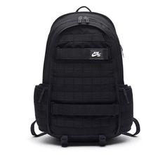 67a73241b924 Nike SB RPM DUST TRIPLE BLACK Laptop Backpack Bookbag School BA5403-010