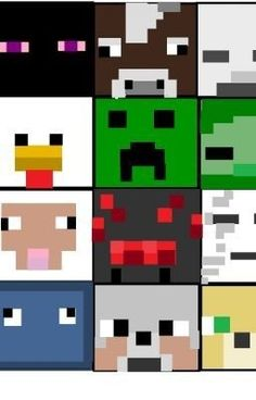Minecraft Quilt ideas (not this layout, but just inspiration) for ethan or killian