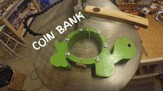 Turtle coin bank - fun scroll saw project