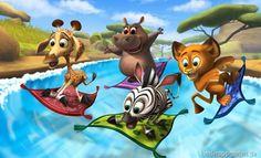 Madagascar Preschool Surf n Slide | iOS Kinder Apps