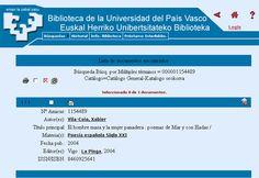 """""""El Hombre Masa y la Mujer Panadera"""" en la Biblioteca de la Universidad del País Vasco."""