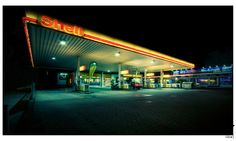 Gas Station I by iDie
