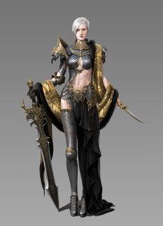 The Royal Knights, Ferret Kim on ArtStation at https://www.artstation.com/artwork/the-royal-knights
