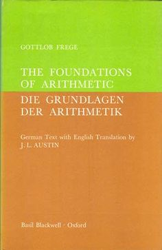 'The Foundations of Arithmetic'  Gottlob Frege