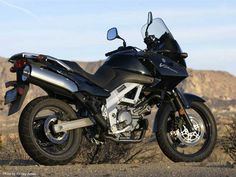 The Suzuki V strom 650 is an uglier SV650 with possibly slightly better suspension, part of Suzuki's ongoing philosophy (shared by Kawasaki) to offer essentially the same bike in as many different configurations as possible, soft drink marketing style.