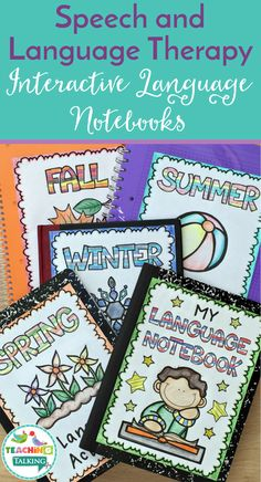 Use these Interactive SLP Language Notebooks to manage the goals and abilities of your K, or grade mixed language groups while keeping records. Social Skills Activities, Sequencing Activities, Language Activities, Teaching Resources, Speech Therapy Activities, Speech Language Therapy, Speech And Language, Wh Questions, This Or That Questions