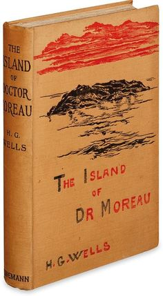 WELLS, H.G. Island of Doctor Moreau. Lot 286