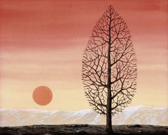 La recherche de l'absolu (The Search for the Absolute) by René Magritte on Curiator, the world's biggest collaborative art collection. Acrylic Painting Lessons, Watercolor Paintings Abstract, Watercolor Artists, Landscape Paintings, Abstract Oil, Painting Art, Landscapes, Rene Magritte, Magritte Paintings