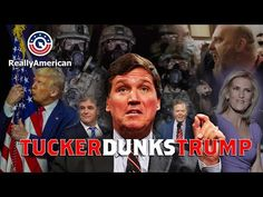 Tucker Dunks Trump - YouTube Theatre Of The Absurd, Real Politics, Tucker Carlson, Swing State, Truth To Power, Fictional World, Great Videos, Simple Minds