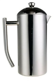 Amazon.com: Frieling Polished Stainless French Press, 33 to 42-Ounce: Kitchen & Dining