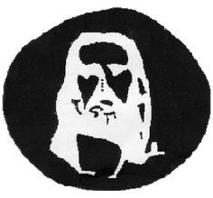 Stare at the four black dots in the center of the image for 30 - 60 seconds. Then quickly close your eyes and look at a white wall