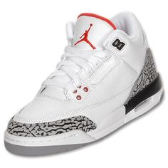 I want these shoes so bad but in baby blue or baby pink Retro Kids, Red And Grey, Black, Jordan 3, Boys Shoes, Basketball Shoes, Baby Blue, Kids Outfits, Sneakers Nike