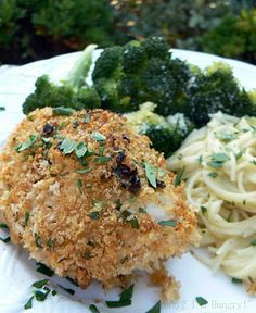 Garlic Chicken Kiev ... sounds really delicious!