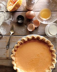 Maple Buttermilk Custard Pie (1) From: Food Blogs, please visit