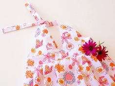 BUTTERFLY Girl Dress pattern sewing PDF download Easy by PUPERITA