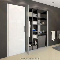 Système pour portes pivotantes et escamotables. HAWA-Concepta 25/30/50 Ciseaux uniques adaptés aux portes lourdes et de grandes dimensions. Le système HAWA-Concepta 25/30/50 est conçu pour les portes de meuble et de cloison pesant jusqu'à 25, 30 et 50 kg. Il permet l'escamotage latéral des portes en bois ou en verre dans un corps de meuble ou une niche murale