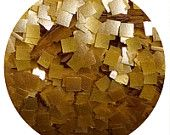 Edible Glitter ~ Gold Square ~ Made in the USA ~ Kosher