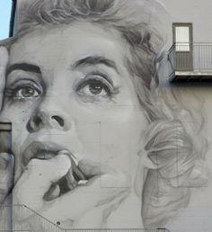 Guido van Helten / Reykjavik, Iceland Street Art Banksy, 3d Street Art, Graffiti Art, Best Graffiti, Best Street Art, Murals Street Art, Amazing Street Art, Art Mural, Street Artists