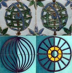 cerâmica modernista em portugal: Alicatado