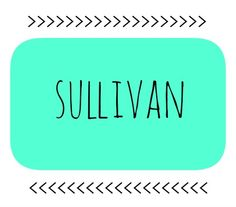 40 Last Names As First Names   I love this idea!! #Sulli